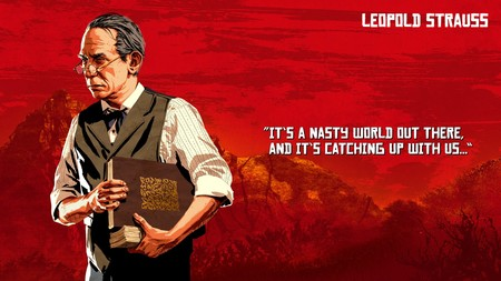 Red Dead Redemption 2 Leopold Strauss
