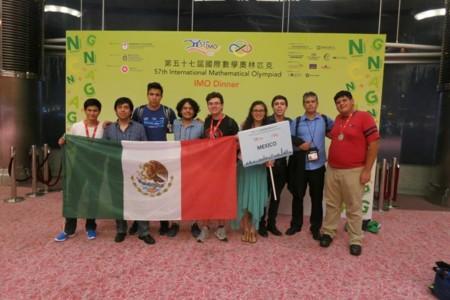 México conquista cinco medallas en la 57ª Olimpiada Internacional de Matemáticas