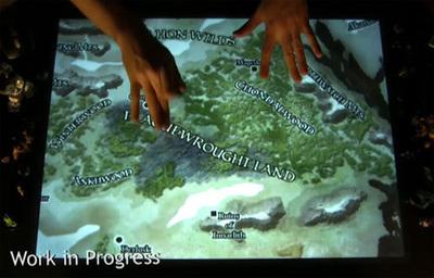 ¿El futuro de los juegos de Rol? Las increíbles Microsoft Surface y ReacTable