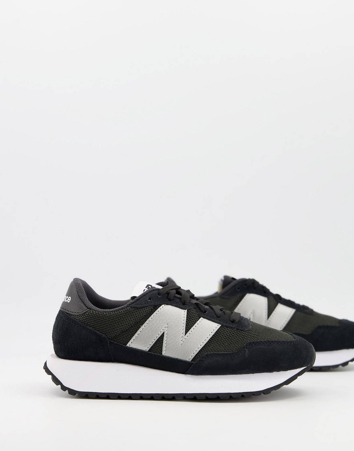 Zapatillas de deporte negras 237 de New Balance