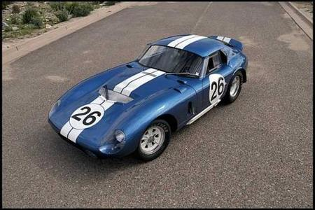 Un Shelby Daytona Coupe de 1965 vendido por 7,2 millones de dólares