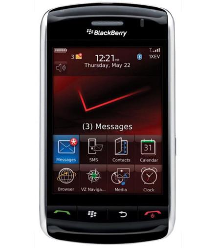 Vídeo: paseo por la interfaz de la BlackBerry Storm