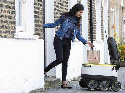 Los robots mensajeros de Starship, ya comenzaron a repartir entregas en Washington y California