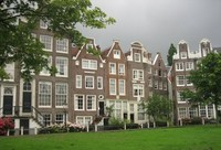 El patio de Begijnhof, Ámsterdam