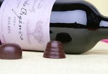 Chocolate con esencia de vino