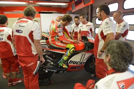 Ducati concluye sus dos días de pruebas en el circuito de Misano