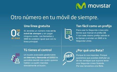 Movistar permite un segundo número con la SIM. Se acabó llevar dos teléfonos