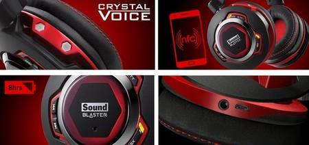 Sound blaster auriculares EVO