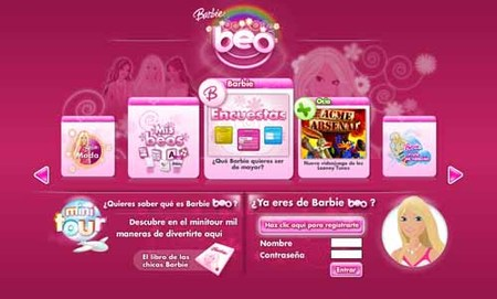 Barbie Beo: red social de Barbie para niñas