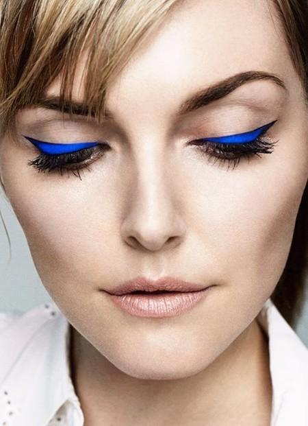 Eyeliner Azul Cobalto 4