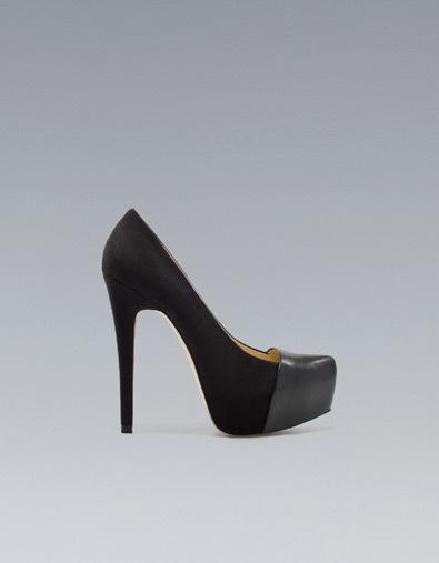zapatos de Zara otoño-Invierno 2012/2013