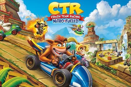 Juega 'Crash Team Racing Nitro-Fueled' completamente gratis en México con el servicio Nintendo Switch Online