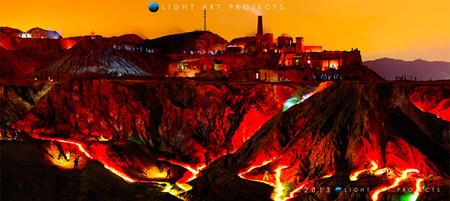 'Mazarrón, un siglo después', la fotografía nocturna más grande de España