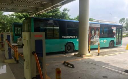 Pekín abre una macro-estación de recarga para autobuses eléctricos