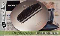 Sony Party-shot, lo hemos probado