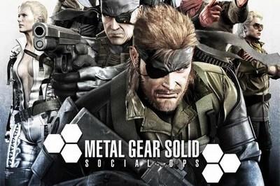 Konami nos deja echarle un vistazo en vídeo al 'Metal Gear Solid: Social Ops' [TGS 2012]