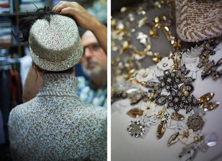 Presentación de la colección Haute Couture otoño-invierno 2014-2015 de Chanel en el Grand Palais