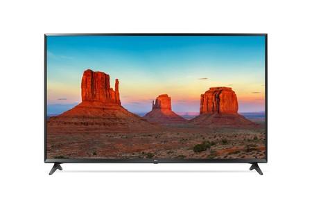 Smart TV de 55 pulgadas, con resolución 4K, LG 55UK6100 por 459,99 euros y envío gratis