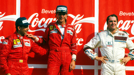 Berger Ferrari F1 1988