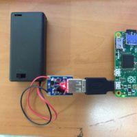 Cómo alimentar tu Raspberry Pi Zero con dos pilas AA
