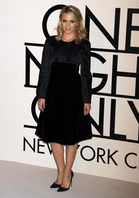 Diana Agron en la fiesta One Night Only de Giorgio Armani en Nueva York, Octubre 2013