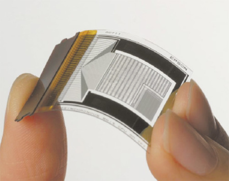 Papel electrónico de mayor resolución de Epson