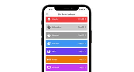 Con esta app puedes controlar todos tus gastos fijos de un solo vistazo