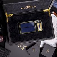 Fibra de carbono, oro y un panel solar hacen que esta funda con el iPhone X cueste más de 4.000 euros
