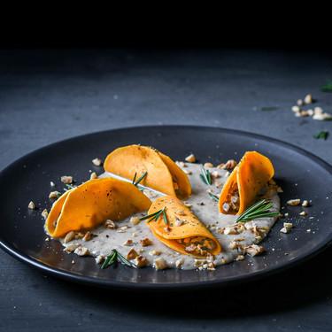 Receta de ravioli de calabaza con relleno de setas: el entrante (apto para veganos) con que lucirte esta Navidad