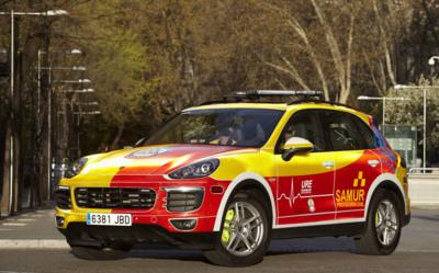 El SAMUR ficha por Porsche