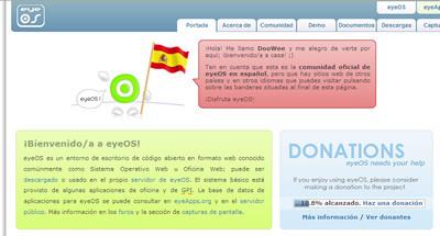 EyeOS hispano