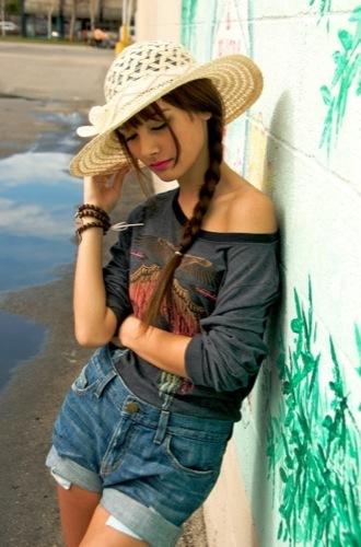 El tejido vaquero dominará la próxima Primavera-Verano 2010: looks de calle, shorts