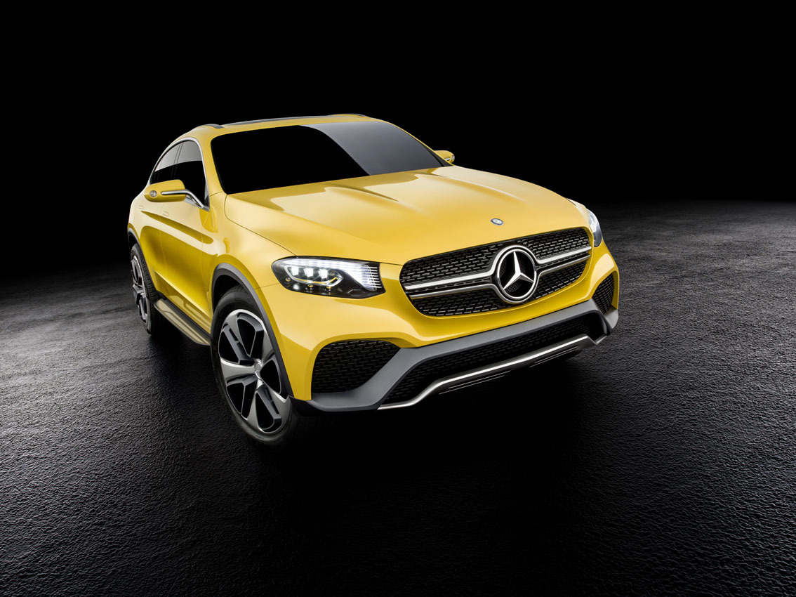 Foto de Mercedes-Benz Concept GLC Coupé (9/14)