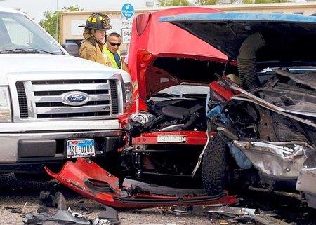 Ferrari California accidente