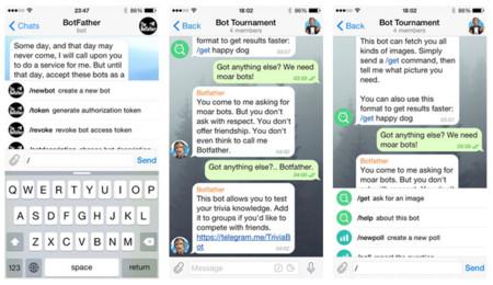 Comandos para los bots de Telegram