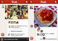 Path supera los tres millones de usuarios, una versión iPad en desarrollo