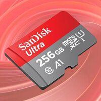 ¿Necesitas más memoria para tu Chromebook? Esta microSDXC SanDik Ultra de 256 euros cuesta 10 euros menos en Amazon