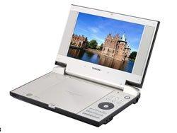 SD-P2800, DVD portátil de Toshiba con lector de tarjetas