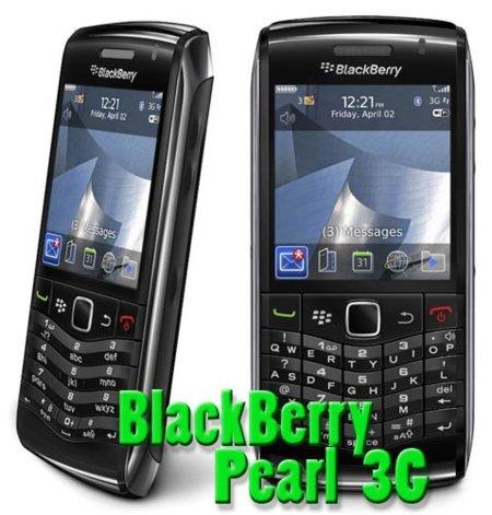 BlackBerry Pearl 3G, el BlackBerry con dos tipos de teclado y WiFi 802.11n