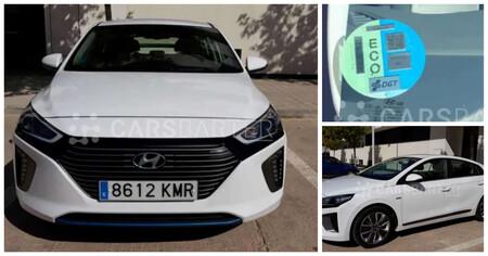Consumo bajísimo y etiqueta ECO en este Hyundai Ioniq a muy buen precio