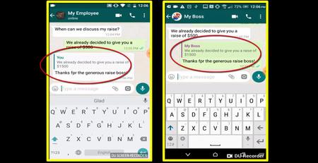 Descubren una vulnerabilidad de WhatsApp que permite cambiar textos de una conversación