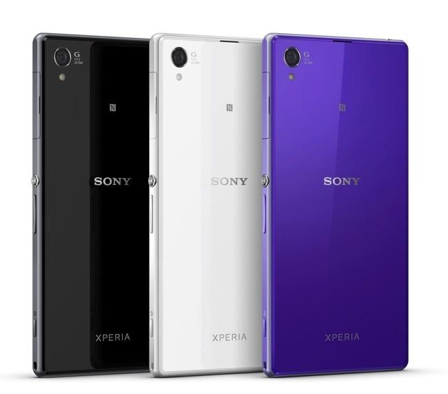 Sony Xperia Z1 en colores