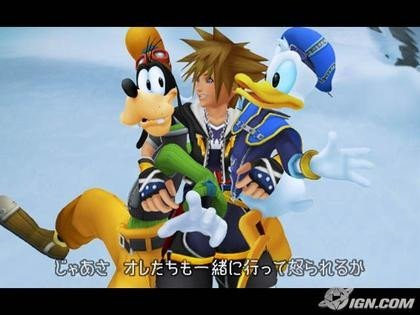 Kingdom Hearts II, video del final (spoiler)