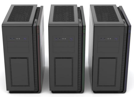 Phanteks Enthoo Mini XL DS, gabinete con espacio  para instalar dos sistemas