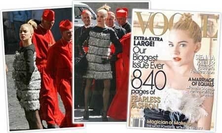 Sienna Miller para Vogue