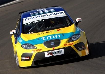 Buen debut de Monteiro en el WTCC