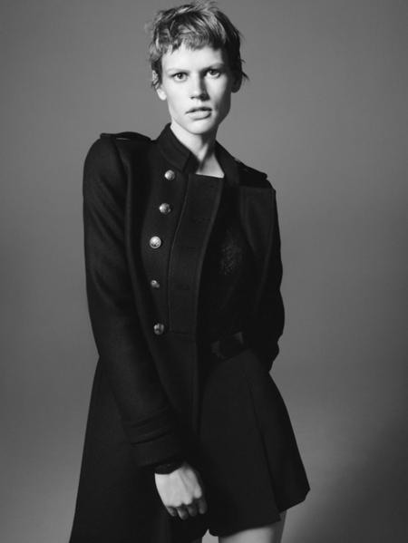 Zara catálogo Invierno 2011/2012 con Saskia de Brauw