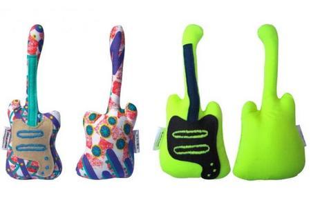 Sonajeros-guitarra para bebés marchosos