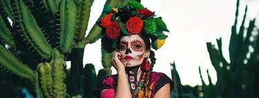 31 ideas de maquillaje de Catrina muy elaboradas para llamar la atención la noche de Halloween