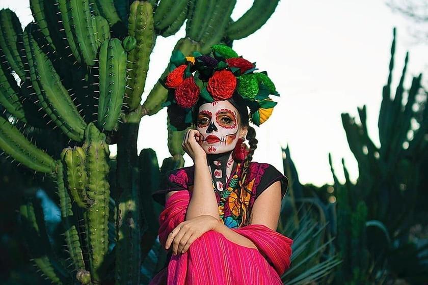 Como Hacer El Maquillaje De Calavera Mexicana Elaborado